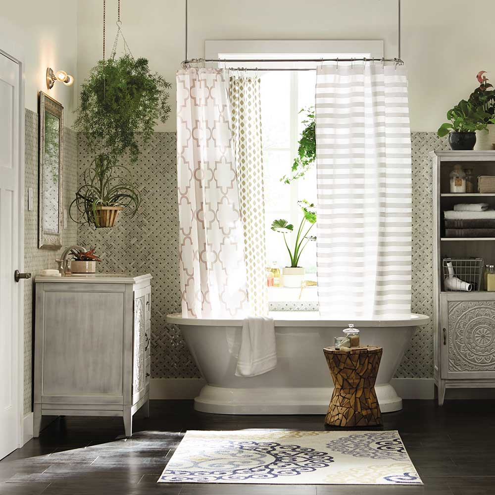 Boho Bungalow Bathroom