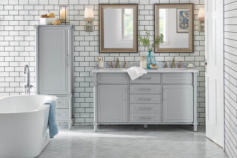 Charmant Room U0026 Style Ideas. Coastal Retreat Bathroom