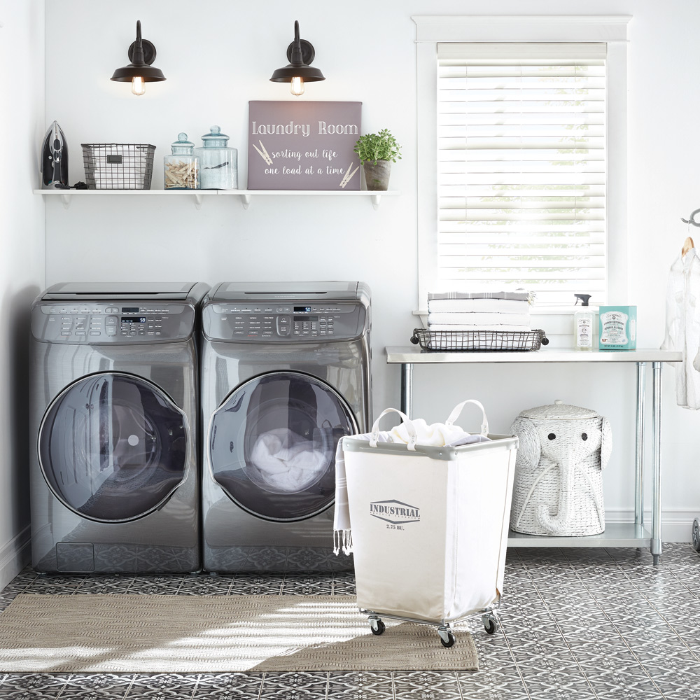 Modern Laundry Room Decor