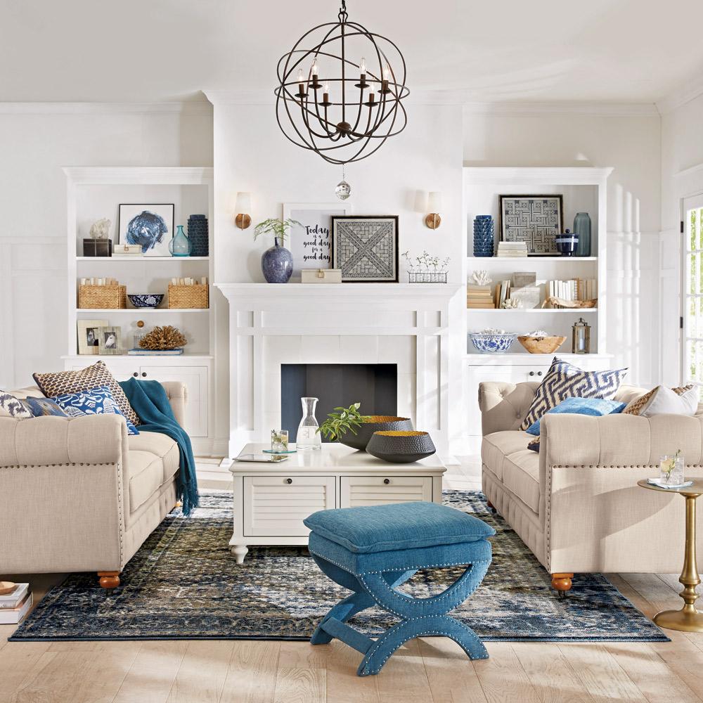 Exceptional Living Room Catalog Part - 10: Coastal Retreat Living Room