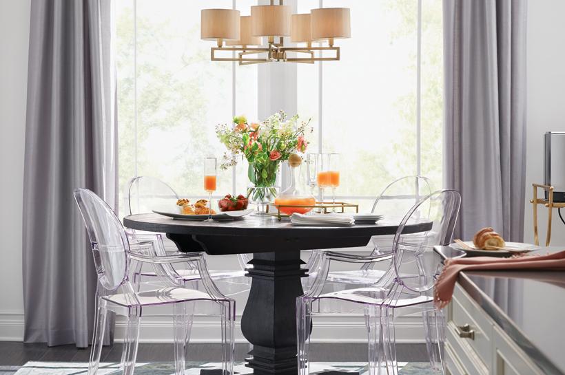 Room Style Ideas Vintage Glam Dining