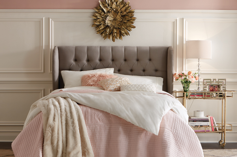 010903d51f Vintage Glam Bedroom – Shop by Room – The Home Depot