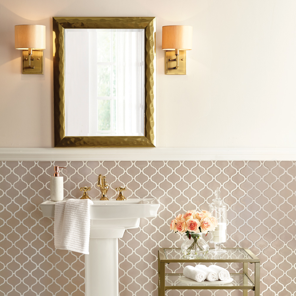Vintage Glam Bathroom – Shop by Room – The Home Depot