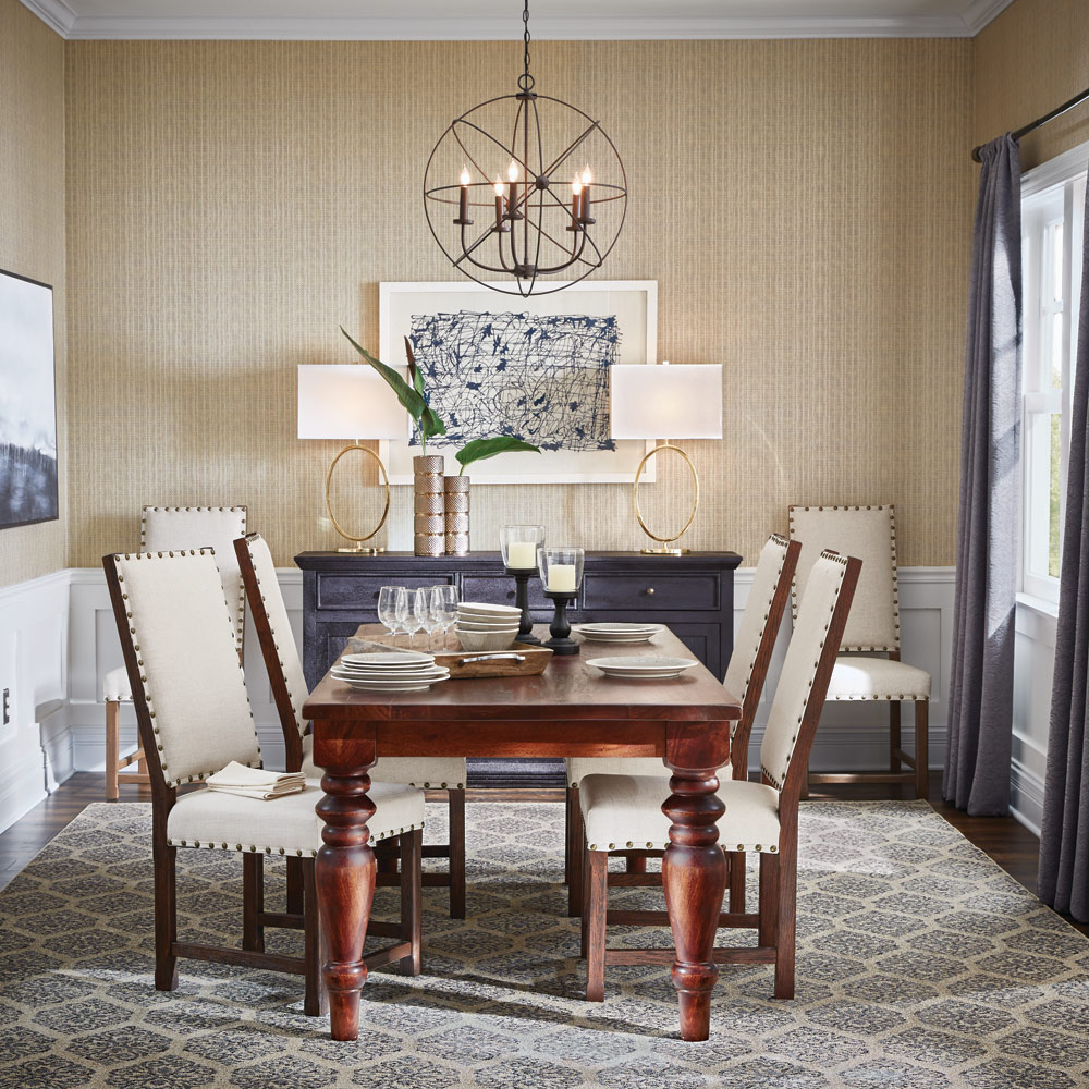 Transitional, Classic. Urban Modern Dining Room