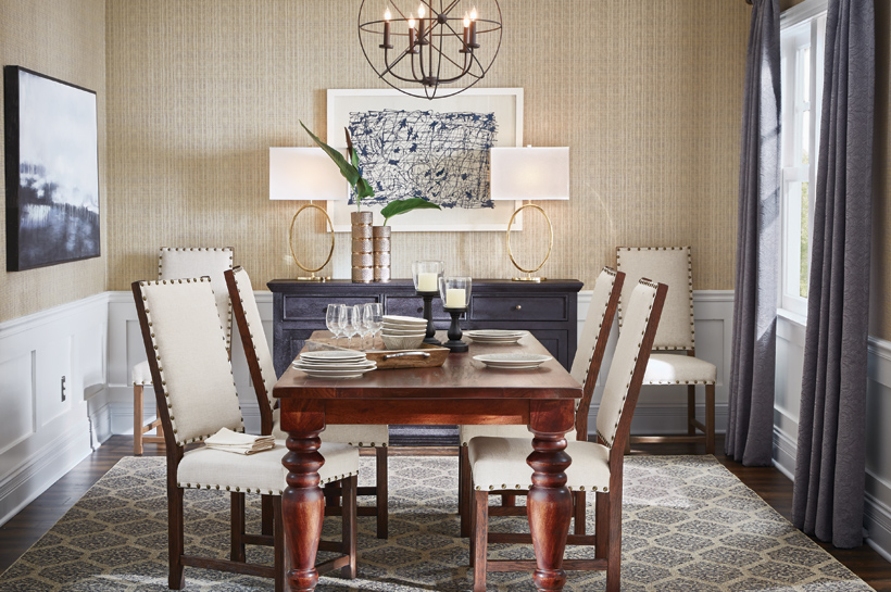 Urban Modern Dining Room – Shop by Room – The Home Depot