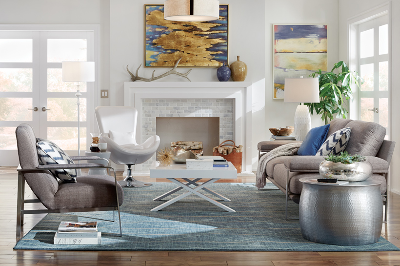 urban living room. Room  Style Ideas Urban Living The Home Depot