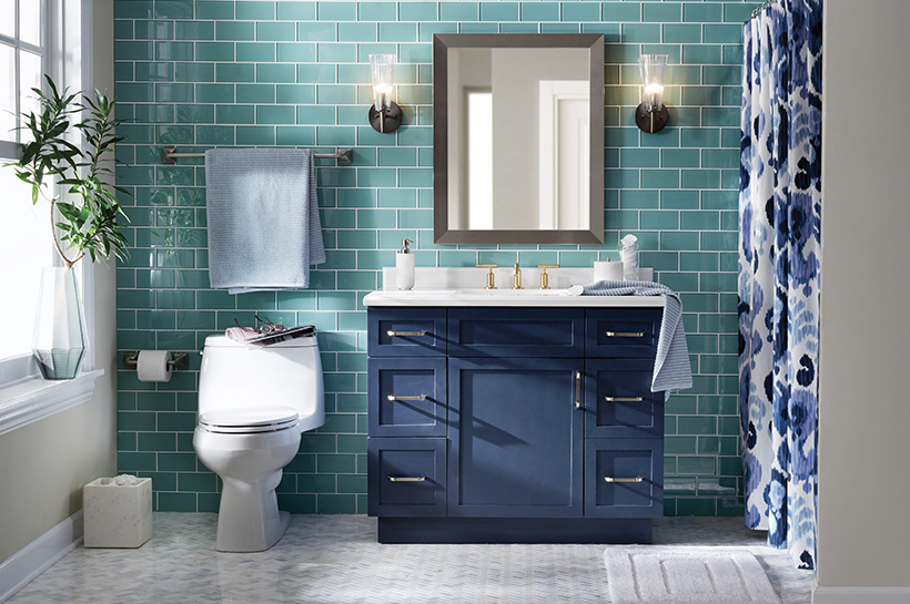 Bold Bathroom Shop By Room The Home Depot
