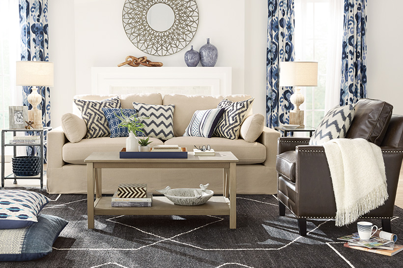 Patterns Living Room – The Home Depot