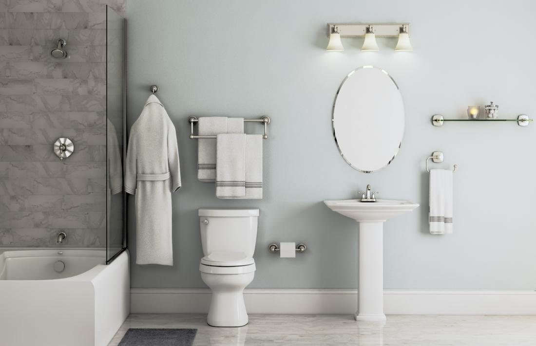 Kelston Collection In Polished Chrome Bath The Home Depot