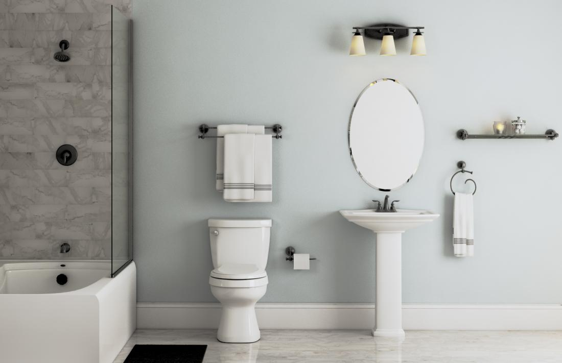 Sienna Collection In Matte Black Bath The Home Depot