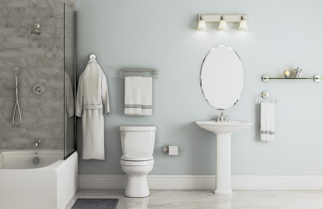 Iso Collection in Spot Resist Brushed Nickel – Bath – The Home Depot