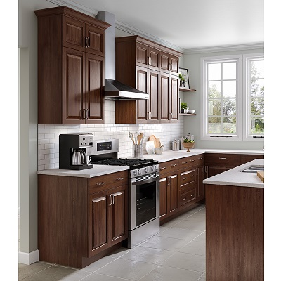 Benton Base Cabinets in Amber - Kitchen - The Home Depot