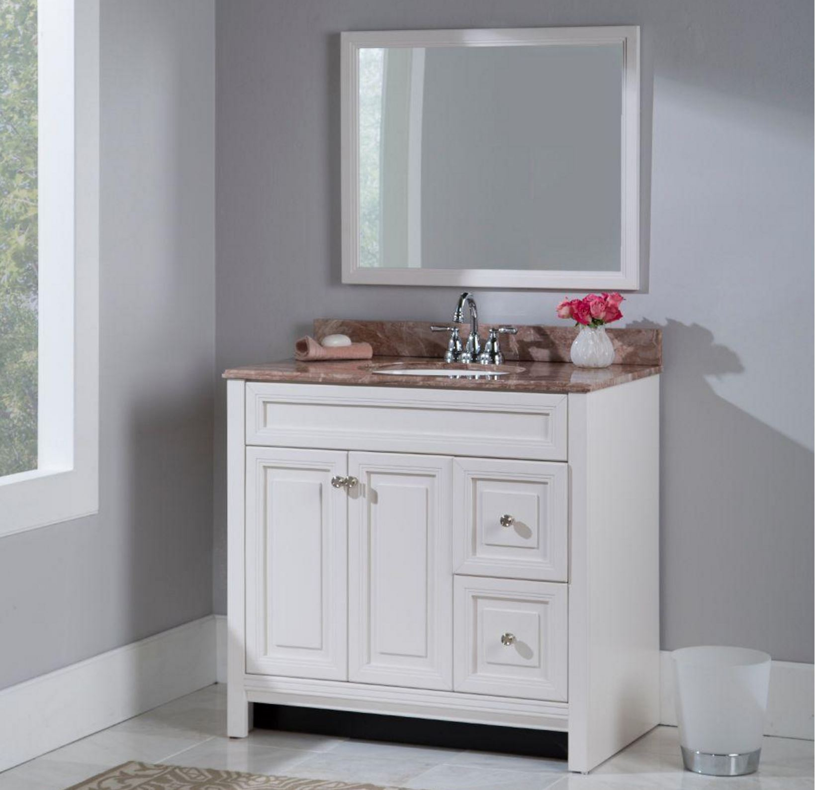 Brinkhill Collection in Cream – Bath – The Home Depot