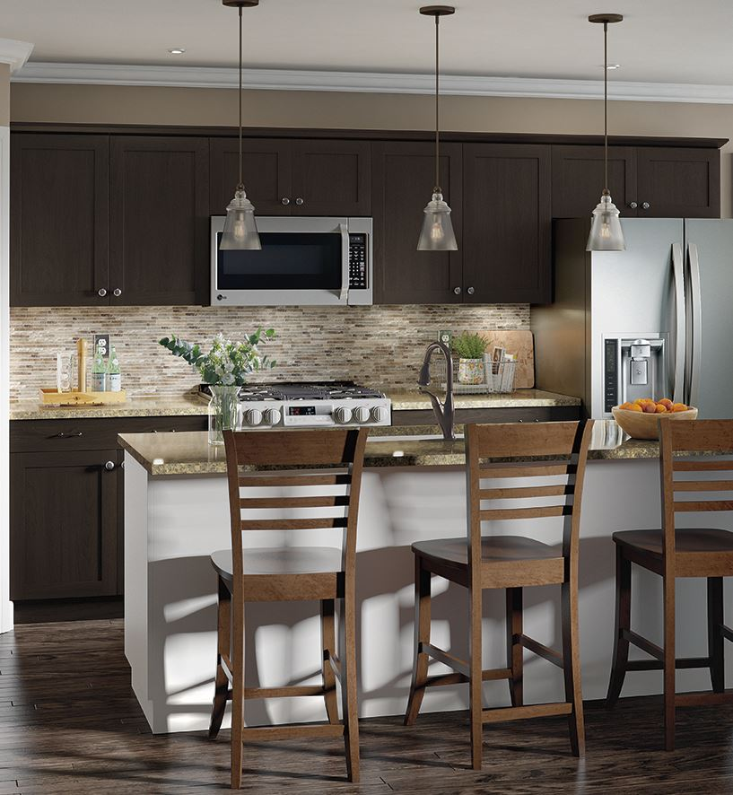 Home Furniture Kitchen: Cambridge Base Cabinets In Dusk