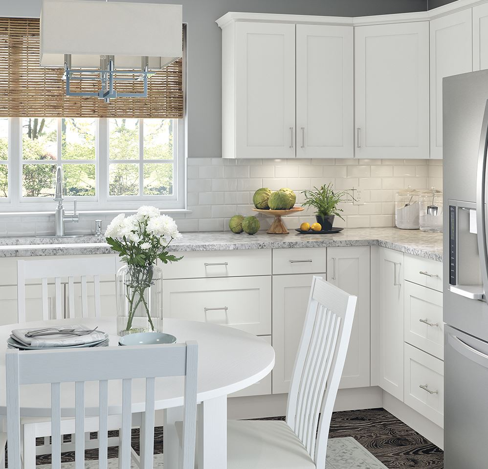 Flooring Companies Bay Area: Cambridge Base Cabinets In White