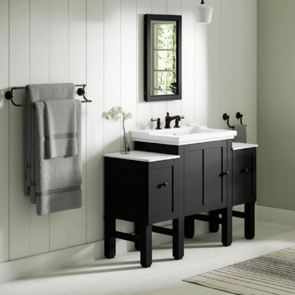 Chambly Bathroom Vanity Collection In Black Forest Bath