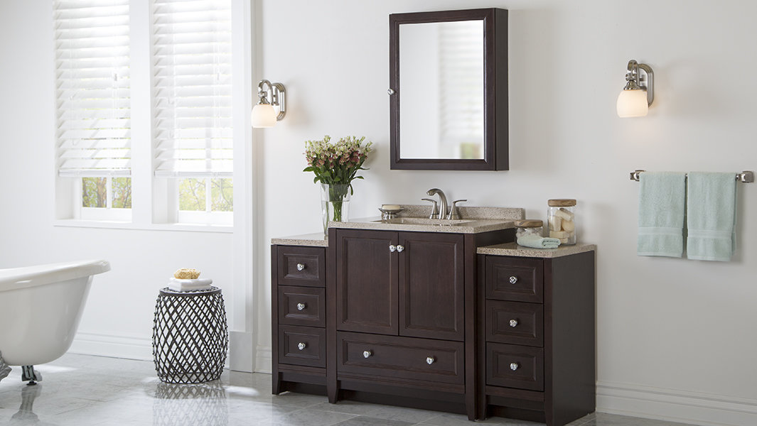 Delridge Collection In Chocolate Bath The Home Depot