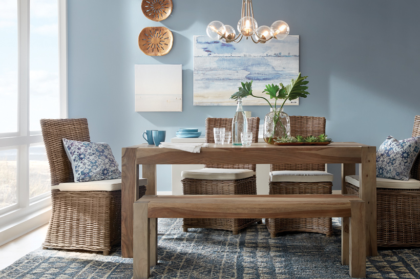 Global Coastal Dining Room – Shop by Room – The Home Depot