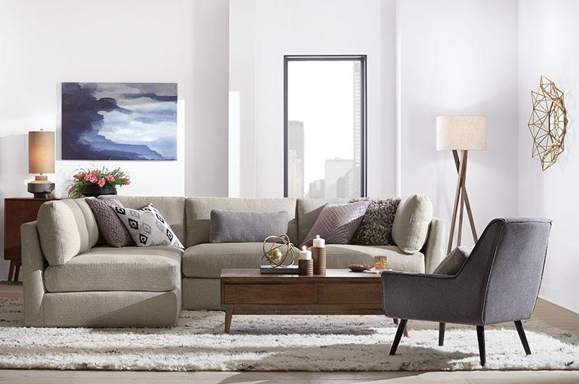 Create U0026 Customize Your Latest Home Decor Catalog Global Modern Living Room  U2013 The Home Depot
