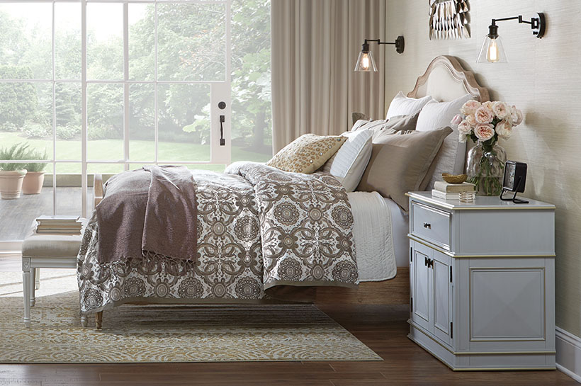 Global Old World Bedroom – Shop by Room – The Home Depot