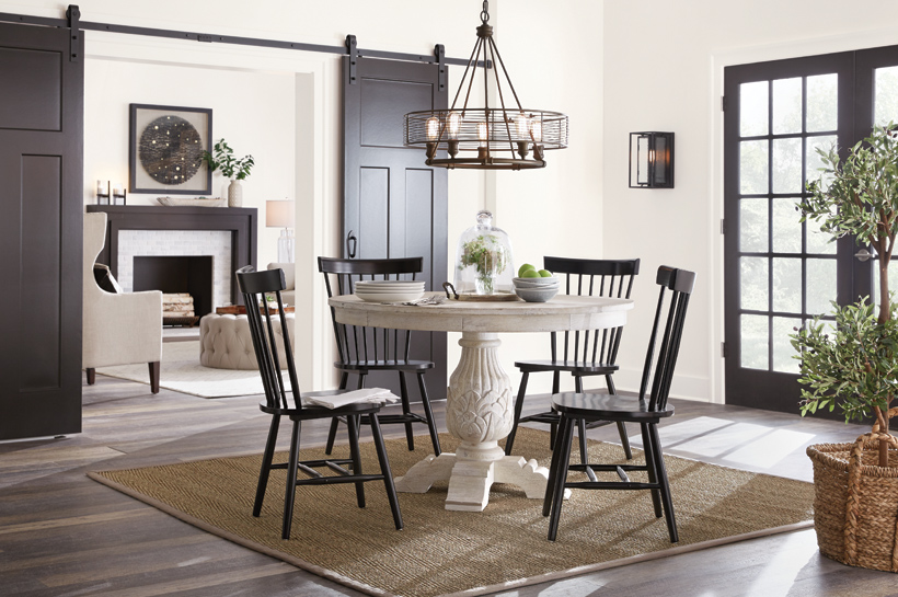 Global Farmhouse Dining Room