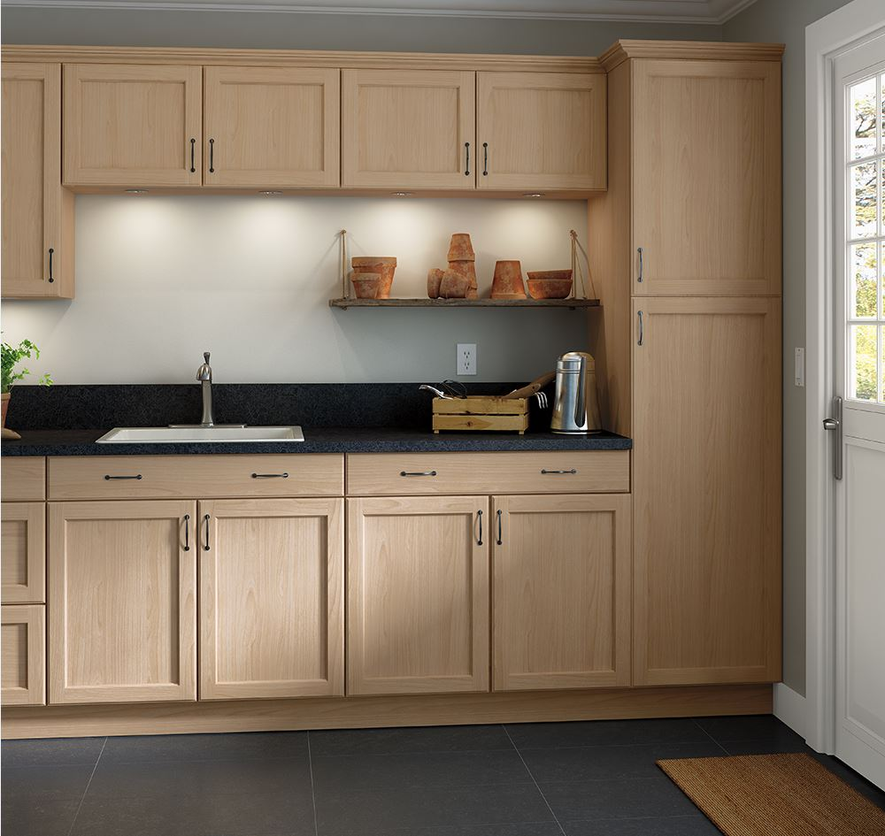 Kitchen Cabinets Home Depot: Easthaven Unfinished Base Cabinets