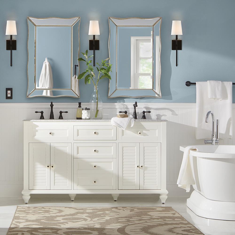 Cottage Bathroom – Bathroom – The Home Depot