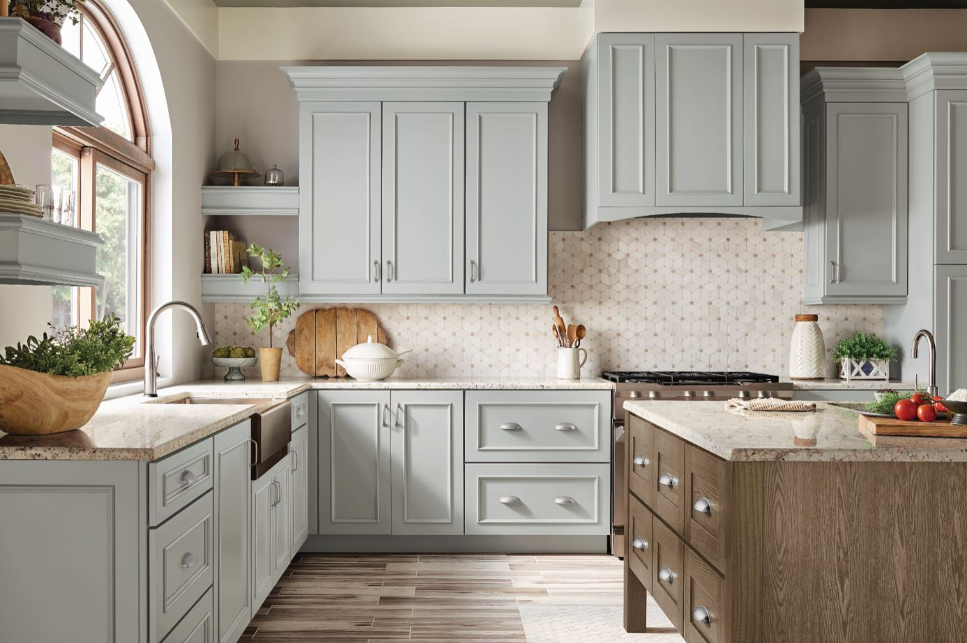 Farmhouse Kitchen – Kitchen – The Home Depot