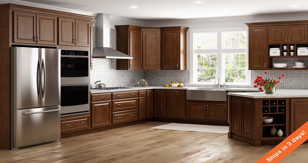 the home depot kitchen cabinets hampton wall kitchen cabinets in cognac kitchen the 8453