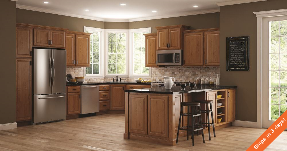 home depot kitchen design.  Hampton Wall Kitchen Cabinets in Medium Oak The Home Depot