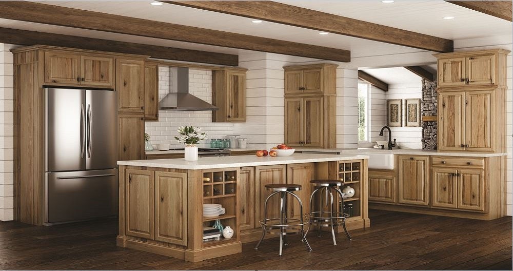 hickory kitchen cabinets home depot hampton wall kitchen cabinets in hickory kitchen 7026