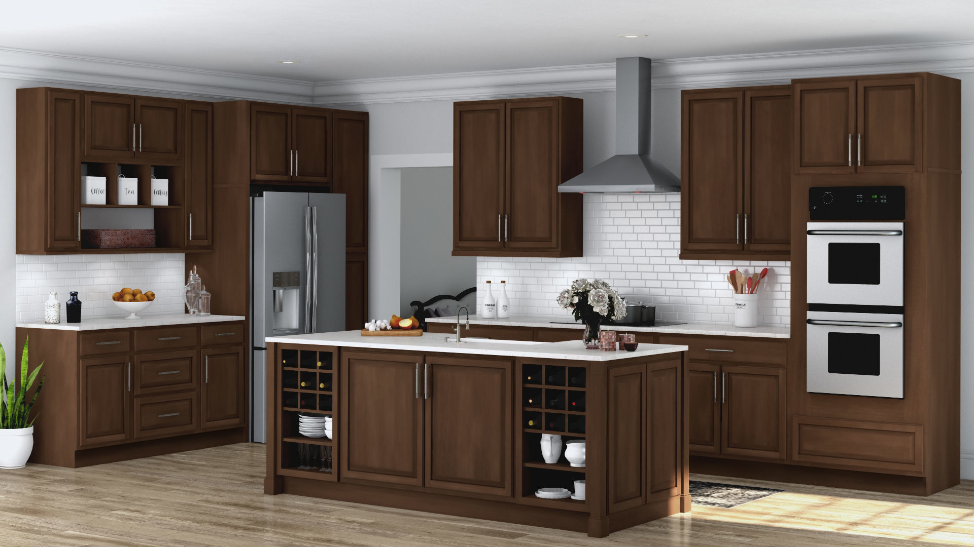 home depot kitchen furniture hton wall kitchen cabinets in cognac kitchen the home depot 4374