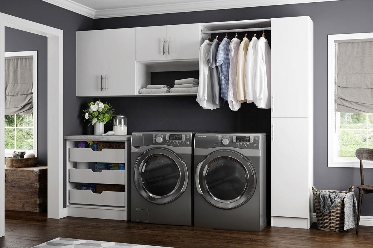 Horizon Collection In White Storage Amp Organization The