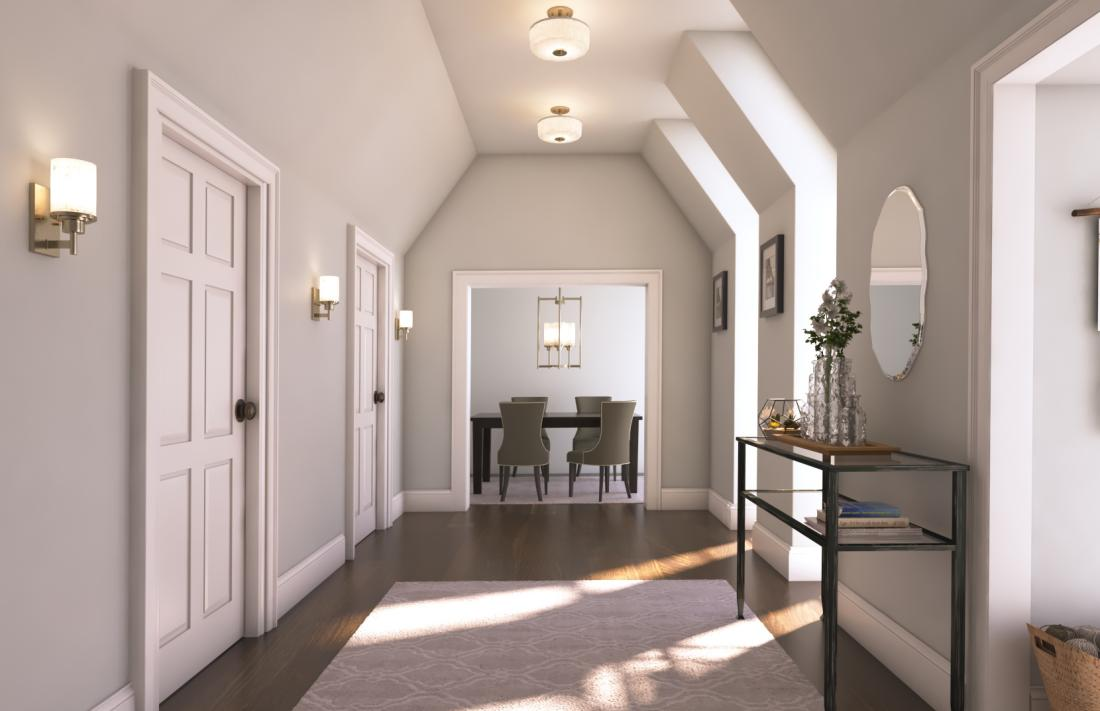 Alexa Collection In Brushed Nickel Lighting The Home Depot