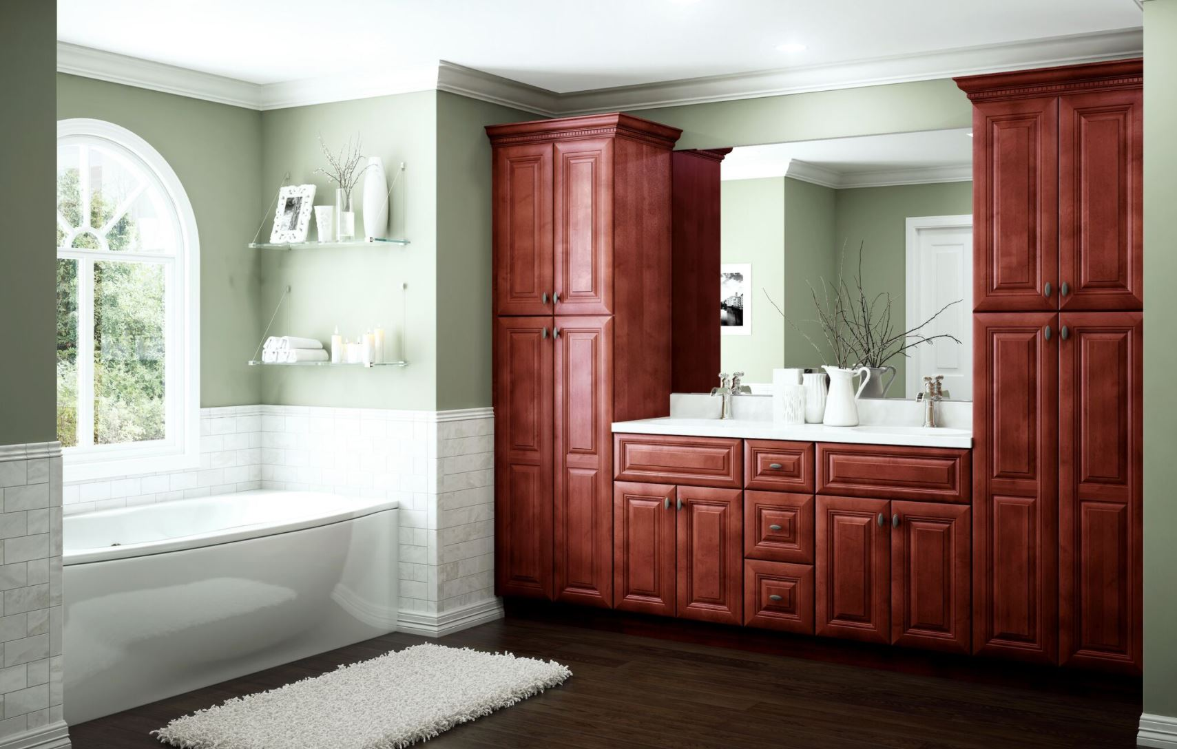 Home Decorators Vanities: Lyndhurst Cabinet Accessories In Cabernet