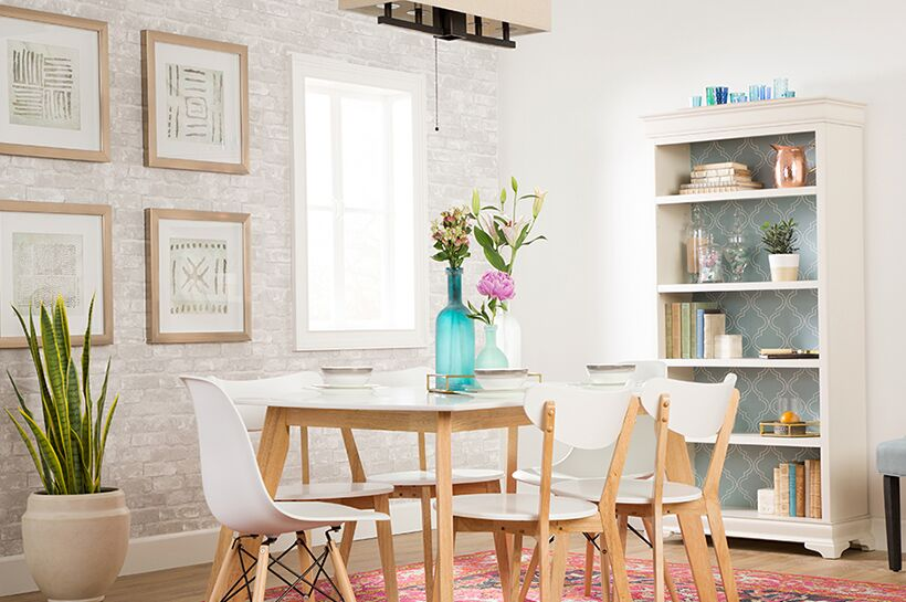 Modern Bohemian Dining Room – Shop by Room – The Home Depot