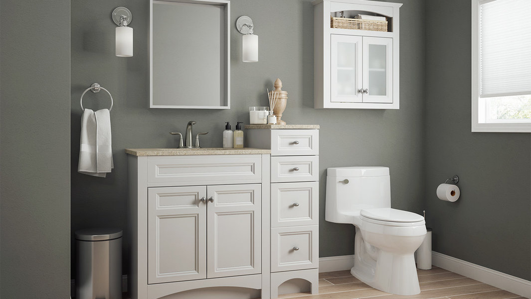 Modular Collection In White Bath