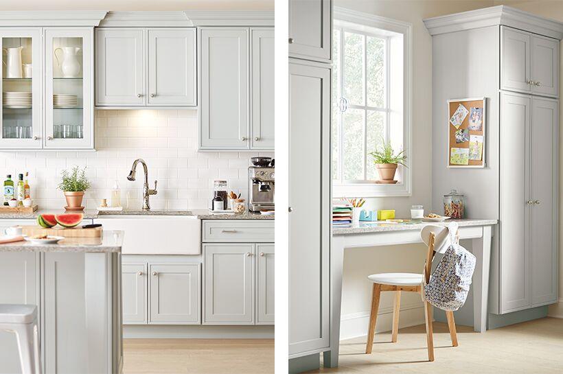 Overbrook Kitchen The Home Depot