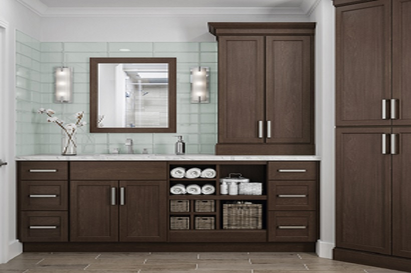 Shaker Base Cabinets In Brindle