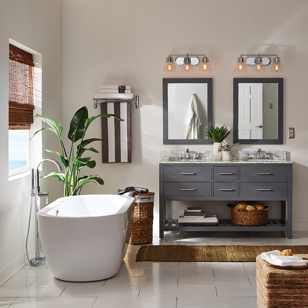 Bathroom Ideas: Shop By Room At The Home Depot