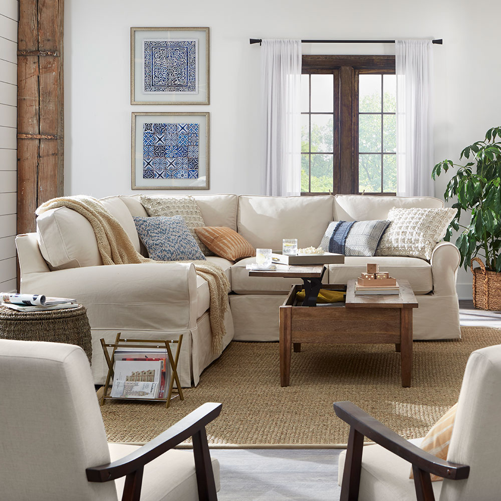 Living Rooms — Shop by Room at The Home Depot for Classic Farmhouse Living Room  300lyp