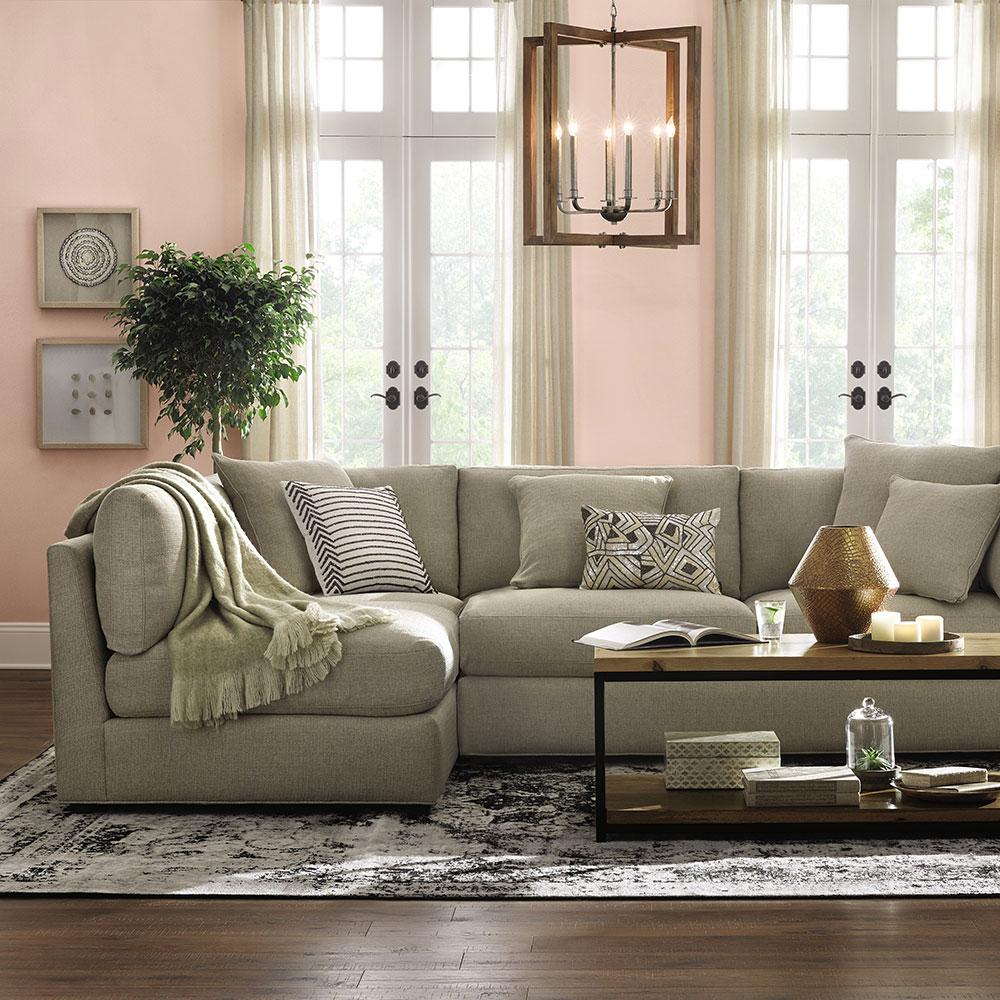 Classic, Glam. New Classic Living Room