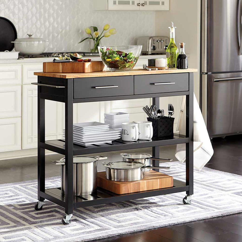 Modern, Classic. Multitaskers Kitchen Carts