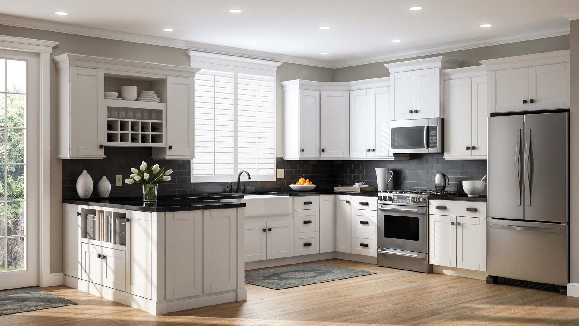 white kitchen cabinets or not shaker base cabinets in white kitchen the home depot 28875