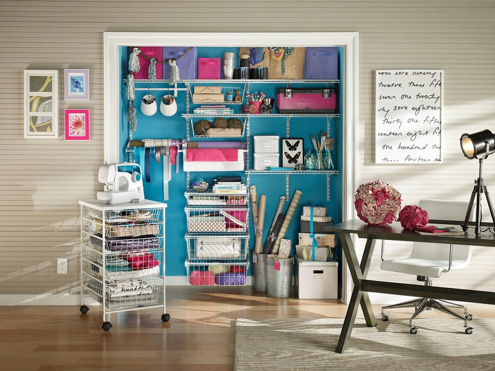 ShelfTrack Collection in White – Storage & Organization – The Home Depot