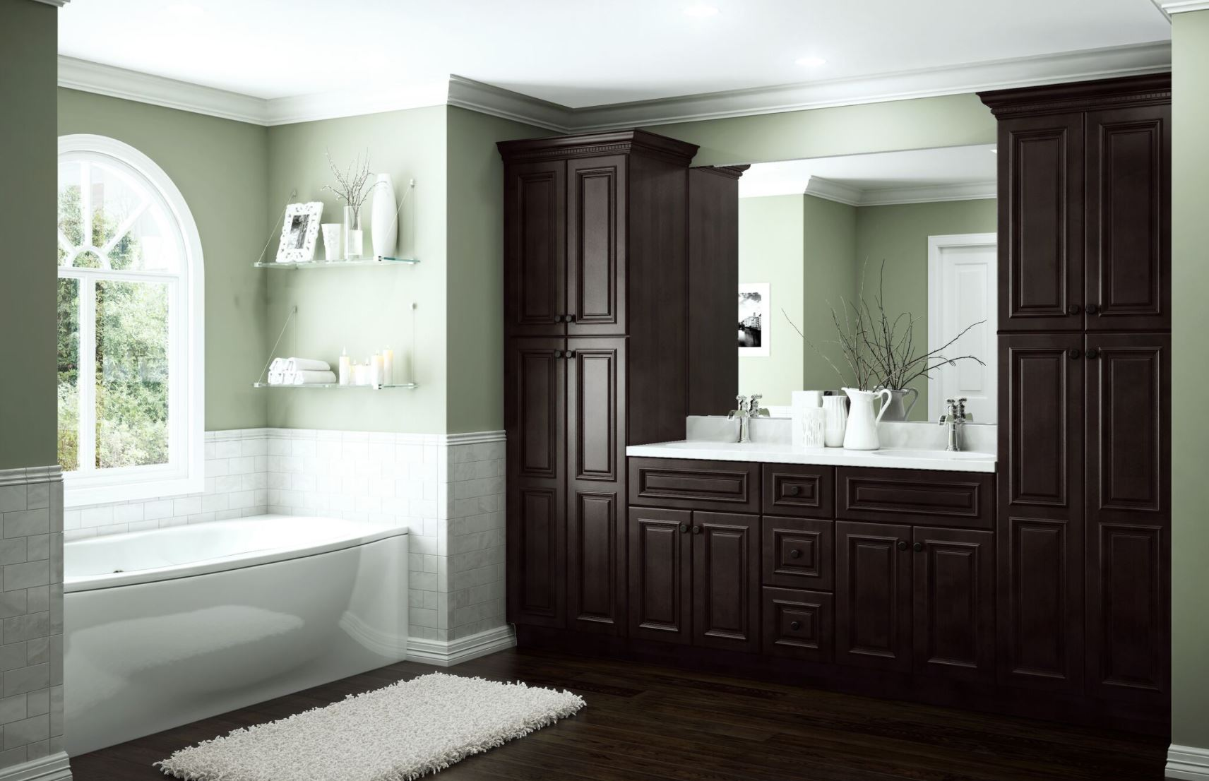 Home Decorators Vanities: Somerset Base Cabinets In Manganite