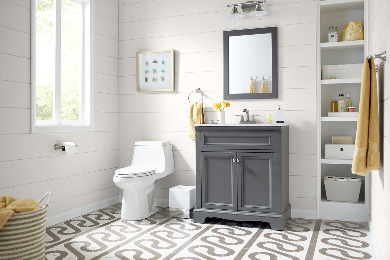 Windsor Park Gray Collection – Shop by Room – The Home Depot