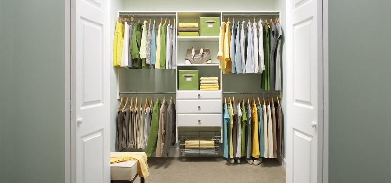 Msl Closet Kits In Classic White Storage Amp Organization