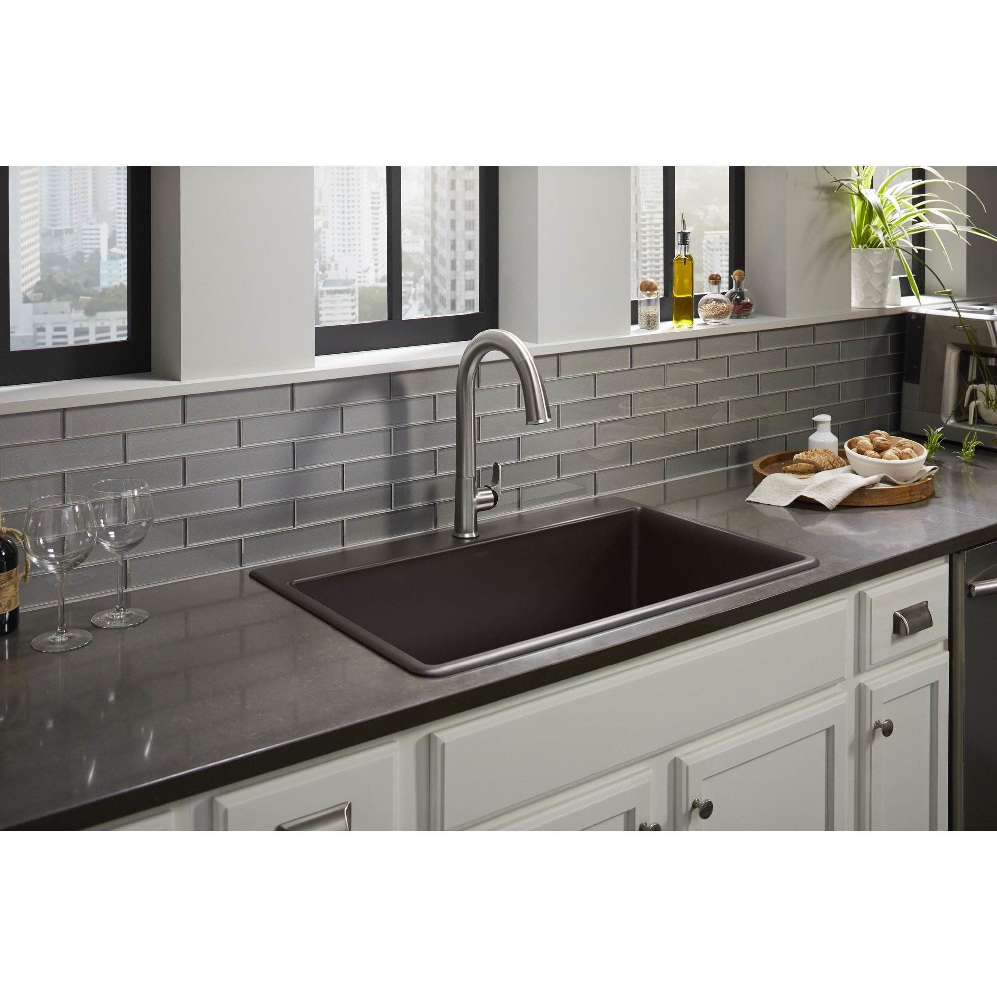 Black Sink For Kitchen: Neoroc Kitchen Sinks In Black