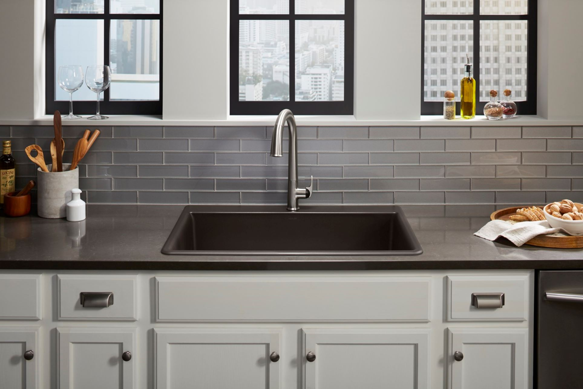Neoroc Kitchen Sinks In Brown